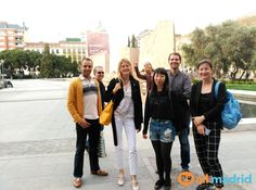 We love our after class trips! Exploring the #beautiful city of #Madrid in #BarrioSalamanca