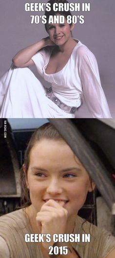 Not even gonna deny it, I have a crush on Daisy Ridley. I mean, just look at that face. xD