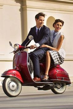 the classic Vespa lifestyle - not mine but I'm just a dude that likes vespas, not lifestyles.