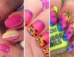 5 diseños de uñas diferentes para usar todo el verano - http://xn--decorandouas-jhb.com/5-disenos-de-unas-diferentes-para-usar-todo-el-verano/