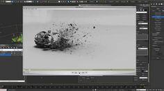 Mastering Thinking Particles - Ash Decay Destruction Tutorial