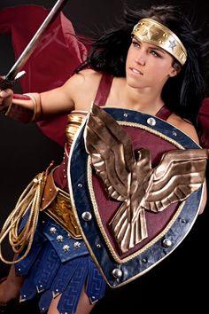 Cosplay Wonder Woman 02 Cosplay de Wonder Woman