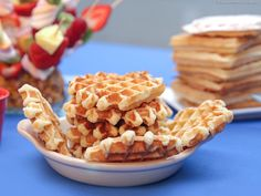 Liège Waffles - Recipe card with photos - Best of the Chef Waffle Recipes, Chef Recipes, Bread Recipes, Cooking Recipes, Crepes, Liege Waffles Recipe, Belgian Waffles, French Pastries, Food Illustrations