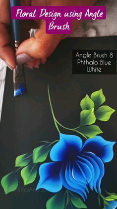 Acrylic Painting Flowers, One Stroke Painting, Acrylic Painting Tutorials, Painting Flowers Tutorial, How To Paint Flowers, Diy Wall Art, Diy Wall Decor, Pencil Drawings Of Flowers, Painting Lessons