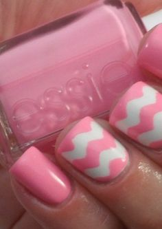 A little too much for my personal style. Will need to tone down this look.   Pretty Nails with Gold Details nails ideas nails design Manicure Ideas featured Pink Chevron Nails, Chevron Nail Art, Pink Nails, Get Nails, Hair And Nails, Love Nails, How To Do Nails, Pretty Nails, Pink Manicure