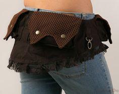 Bolsillo de cinturón bolsillos festival por LunaDesignn en Etsy