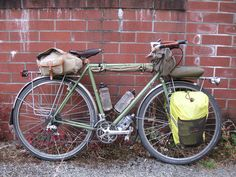 Autumn Bicycle Camping Day 1 - My Atantis just before heading out | Flickr - Photo Sharing!