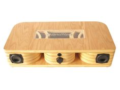 The QuarterWave is a handcrafted Bluetooth speaker system which implements a tapered acoustic transmission channel designed to produce a full-range superior quality sound. The QuarterWave is designed to transform any music listener into a true audiophile as we've removed the guesswork in finding the acoustic system to brilliantly reproduce your favorite music.
