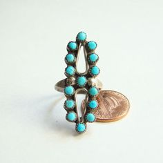Zuni Style Snake Eye Turquoise Sterling Silver Ring Size 6.5 Indian Jewelry Boho Bohemian Boho Bohemian Hippie Chic by redroselady on Etsy