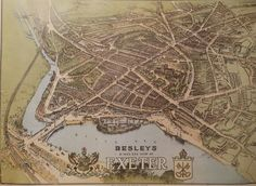 Old map of Exeter. Is your house here.? Working out how many were converted and I know its going to be a lot!