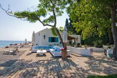 Waterfront Villa in Corfu