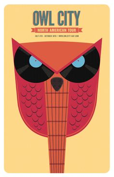 Posters by Winfield Foster, via Behance