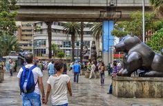 "Fotoviaje: Medellín, Antioquia, Colombia. Día 9 ""Botero al ai... Street View"