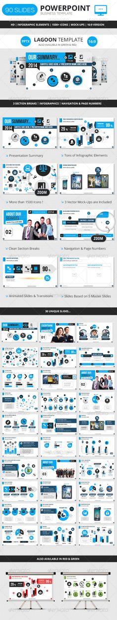 4 modèles PowerPoint totalement gratuits Ppt template, Template - business presentation template