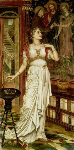 Evelyn de Morgan__Сибилла?