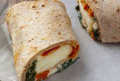 Starbucks' Egg White Spinach Feta Wrap.