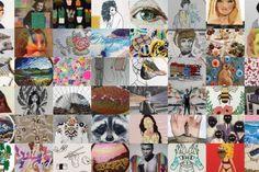 Broderie et chats par Hiroko Kubota Jose Romussi, Johnson Tsang, Images Vintage, Gif Photo, Mixed Media Artwork, Surreal Art, Les Oeuvres, Newspaper, Collages