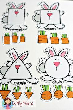 Spring Preschool Centers FREE Spring Preschool Centers Bunny and Carrots shape sorting activity Preschool Centers, Preschool Lessons, Preschool Learning, Preschool Crafts, Activity Centers, Toddler Preschool, Spring Activities, Learning Activities, Preschool Activities