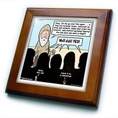 """1st Samuel 8 1 22 What Could Go Wrong Bible kings people problems - 8x8 Framed Tile by Rich Diesslin. $22.99. Keyhole in the back of frame allows for easy hanging.. Cherry Finish. Solid wood frame. Inset high gloss 6"""" x 6"""" ceramic tile.. Dimensions: 8"""" H x 8"""" W x 1/2"""" D. 1st Samuel 8 1 22 What Could Go Wrong Bible kings people problems Framed Tile is 8"""" x 8"""" with a 6"""" x 6"""" high gloss inset ceramic tile, surrounded by a solid wood frame with predrilled keyhole for easy wall mounting."""