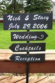 Hudson Valley Wedding - 10 Fun Backyard Barbecue Ideas for Your Summer Wedding - wooden signs