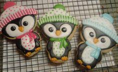 Cute Penguin Cookies