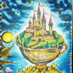My dream place!💖💖💖 Karolina Kubikovska - Ticket to Dreams! Soft Pastel + Posca