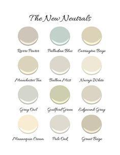 New neutral paint co