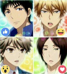 Igarashi, Nana, Shinomiya-kun and last but not the least my favorite male character Mutsumi-senpai
