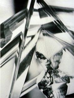 "Alvin Langdon COBURN. ""Vortograph"". ca. 1917 / printed later gelatin silver print 29.8 x 22.3 cm."