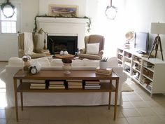 Family Room Layout Inspiration