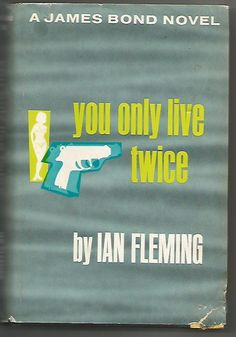 """JAMES BOND 007 IAN FLEMING """"YOU ONLY LIVE TWICE"""" 1964 HB"""