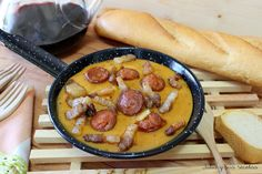 Visit the post for more. Spanish Kitchen, Spanish Food, Spanish Recipes, Main Menu, Churros, Cheeseburger Chowder, Sausage, Soup, Meat