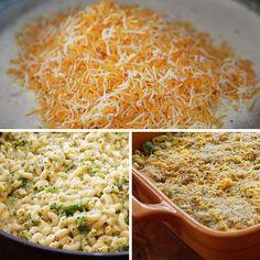 Skinny baked mac n cheese :)