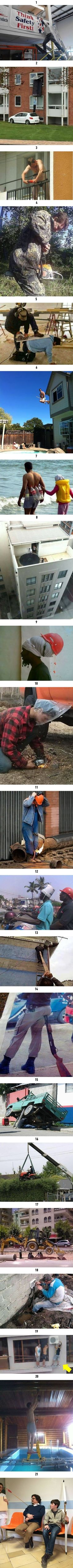 21 Reasons Why Women Live Longer Than Menn/ not that one the guy with gun up butt. is definitely stupid. Funny Pranks, Haha Funny, Funny Texts, Funny Jokes, Hilarious, The Man Show, Lol, Best Funny Pictures, Funny Pics