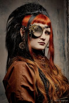 "500px / Photo ""Steampunk Portrait "" by Marina ""Loki"" Nosova #Steampunk #coupon code nicesup123 gets 25% off at  leadingedgehealth.com"