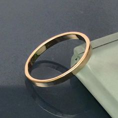 14K wedding band, Plain Wedding Band Ring by EllynBlueJewelry on Etsy https://www.etsy.com/listing/223450409/14k-wedding-band-plain-wedding-band-ring