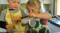 How to set up a toddler-friendly kitchen.