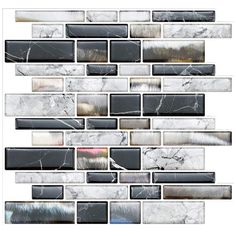 4 x Swirl Silver Circle Carrelage Style 3D Wall Tile Stickers Autocollante