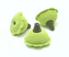 1 Pcs  Crochet squash crocheted vegetables teether от MiniMoms