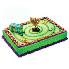 ScoobyDoo Spoon Cake Topper and 24 Cupcake Topper Rings Bakery