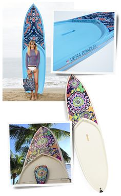 Find out what inspired us to make a splash this summer with a limited release of Vera Bradley Paddle Boards!