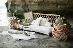 Picture Of relaxed boho chic beach wedding ideas  30