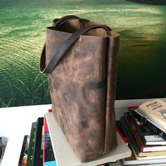 in stock. Brown Leather Totes, Dark Brown Leather, Leather Tassel, Leather Clutch, Market Bag, Large Bags, Bag Sale, Tote Bag, Shopper Tote
