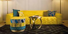 DOM EDIZIONI #domedizioni #sofa #yellow #luxuryliving #pierre