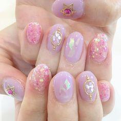 Nail art ideas nailart 37 new ideas Trendy Nail Art, Cute Nail Art, Stylish Nails, Easy Nail Art, Korean Nail Art, Korean Nails, Minimalist Nails, Pink Nails, My Nails