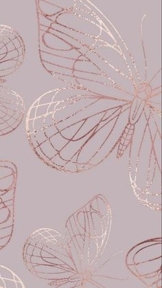 Обои/Wallpaper   Butterfly wallpaper iphone, Gold wallpaper iphone, Flower phone wallpaper