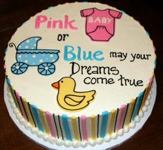 Baby Shower Unisex-Sugar pieces additional cost per item Colors available for sugar items-pink, yellow, or blue