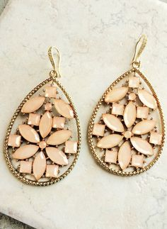 Coral Jewelry US FREE SHIPPING Statement Drop by LimonBijoux