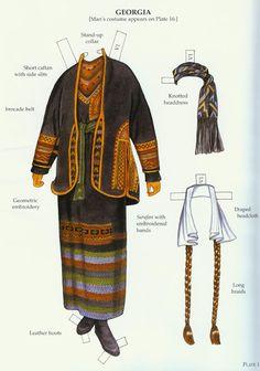 Russian Folk Costumes Paper Dolls (Ming-Ju Sun) - Nena bonecas de papel - Picasa Albums Web