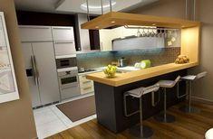 Image result for kitchen design with bar